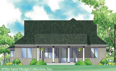 Sargent-Rear Elev Rendering-Plan #7053