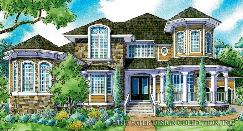 Thornebury-Front Elevation-Plan #7056