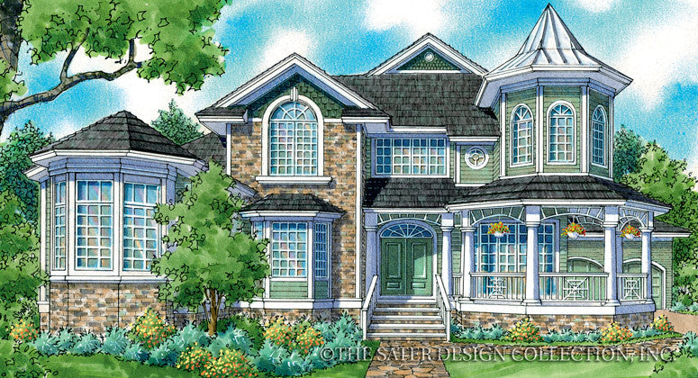 Chelsea-Front Elevation-Plan #7057