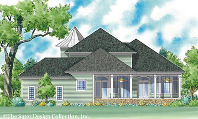 Chelsea-Rear Elevation-Plan #7057