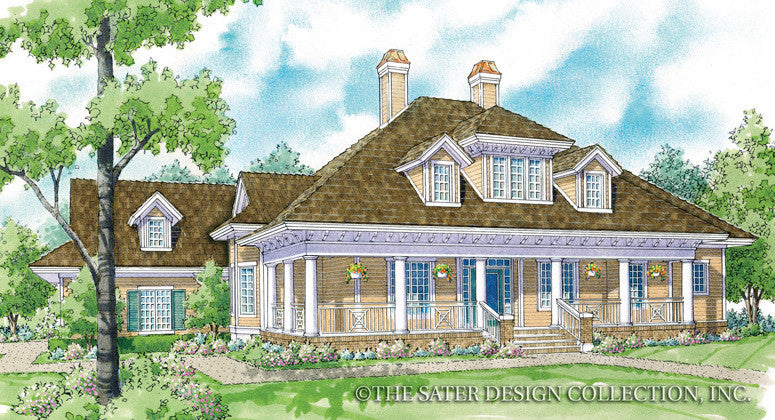 Cloverdale-Front Elevation-Plan #7058