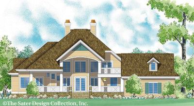 Cloverdale-Rear Elevation-Plan #7058
