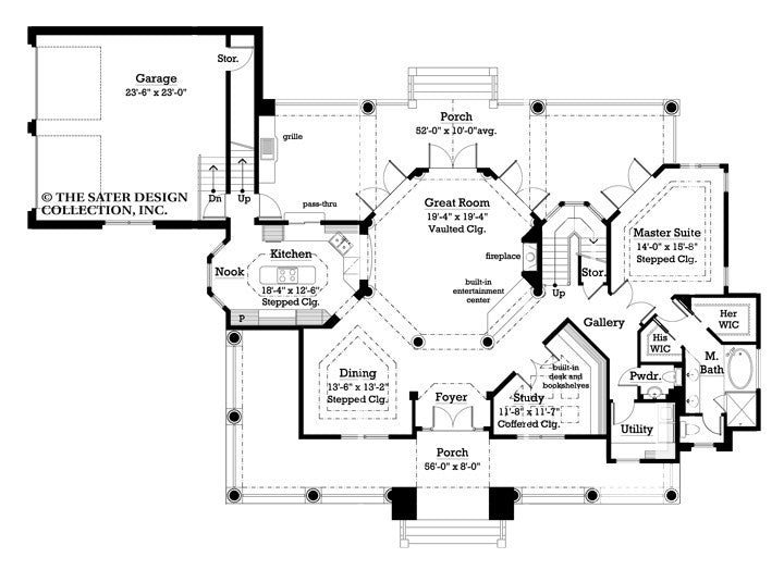 House plan newberry sater design collection for Sater design house plans