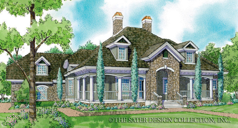 Newberry-Front Elevation-Plan #7059