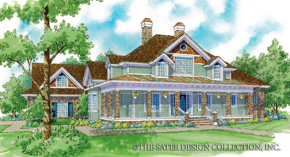 Monroe Home Front Elevation Image - Plan #7060