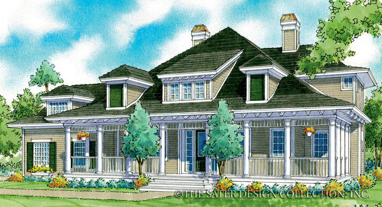 Kennedy-Front Elevation-Plan #7061