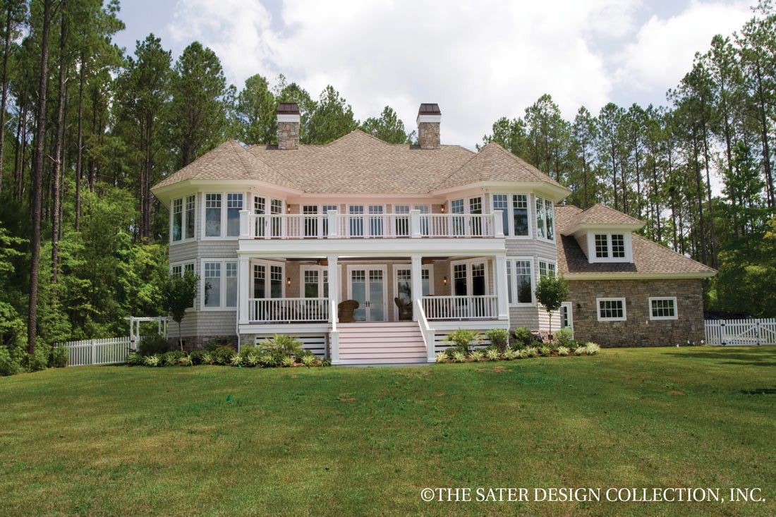 The Sater Design Collection house plan oak island | sater design collection