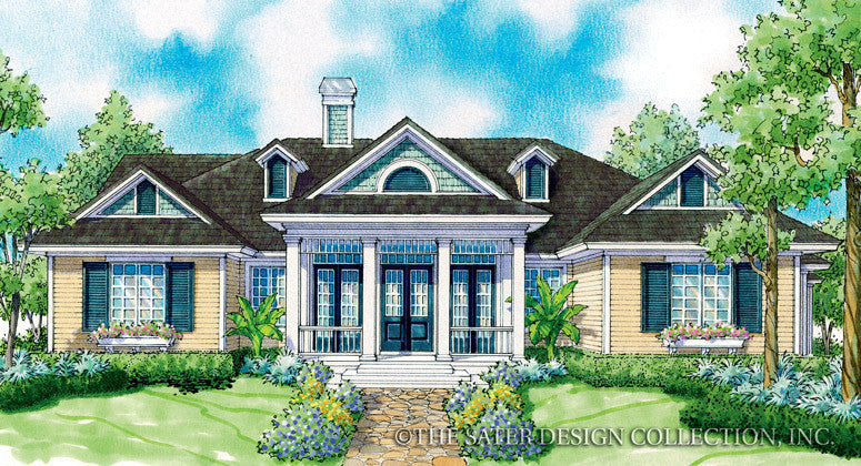 Madison-Front Elevation Rendering-Plan #7064