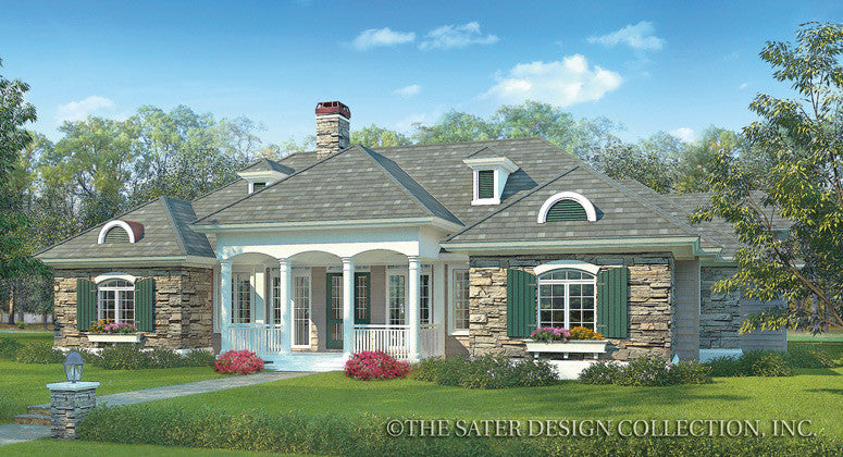 Lexington-Front Elevation-Plan #7065