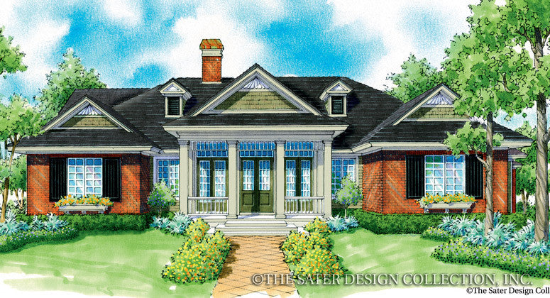Calandre-Front Elevation-Plan #7066