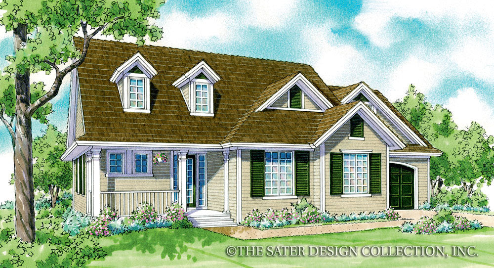 Southington-Front Elevation-Plan #7067