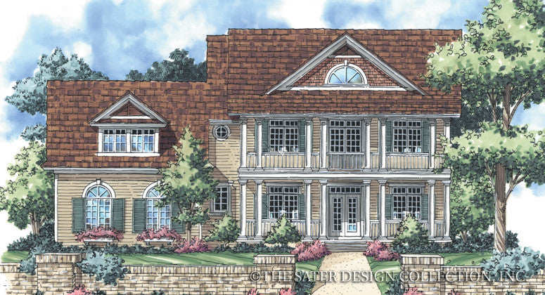 Walnut Ridge-Front Elevation-Plan #7070