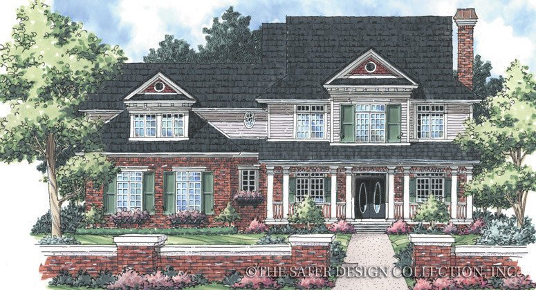 Hawthorne-Front Elevation-Plan #7072