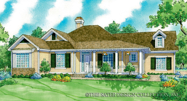 Westbury-Front Elevation-Plan #7073