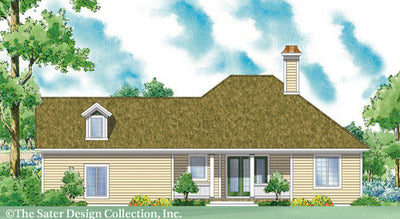 Westbury-Rear Elevation-Plan #7073