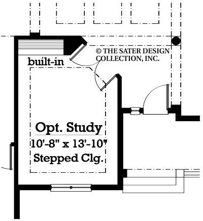 Westbury-Optional Study Floor Plan-Plan #7073