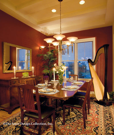 Dune Ridge-Dining Room Photo-Plan #7078