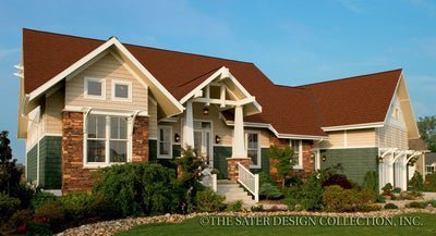 Dune Ridge-Front Elevation-Plan #7078