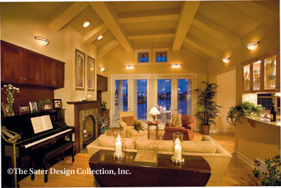 Dune Ridge-Great Room Photo-Plan#7078
