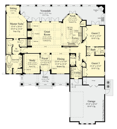 The Burroughs Design floor plan