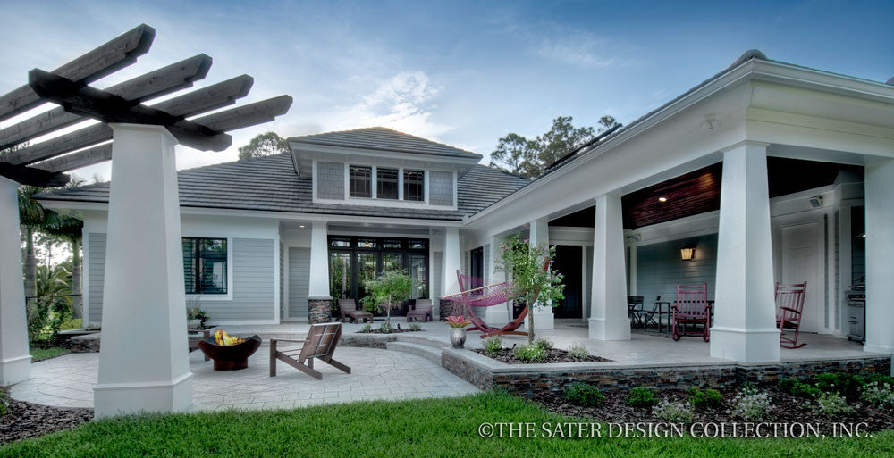 House plan prairie pine court sater design home plans for Sater home designs