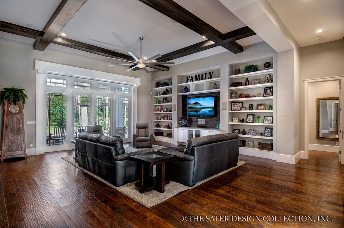 The Sater Design Collection house plan prairie pine court | sater design home plans