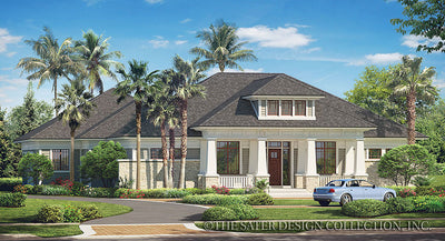 Prairie Pine Court-Front Elevation-Plan #7083