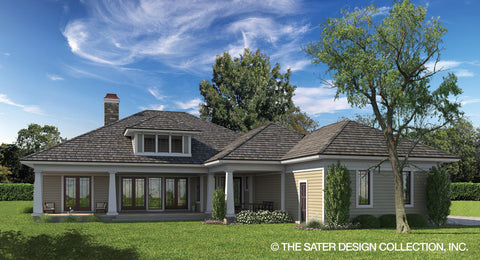 Home Plan Bayberry Lane Small House Plans Sater Design
