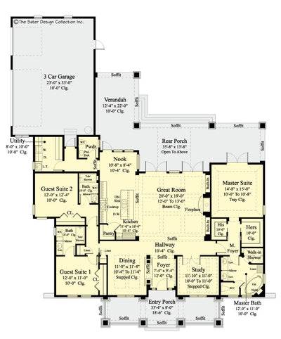 Bayberry Lane floor plan
