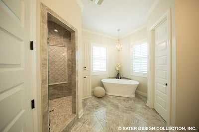 Bayberry Lane House Plan master bathroom