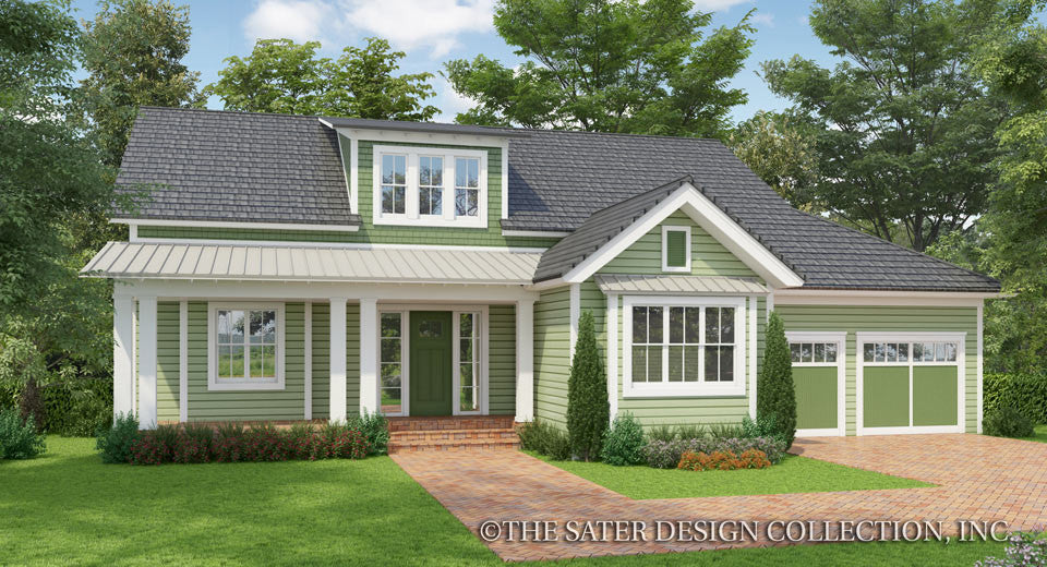 Banyan Ridge-Farmhouse Home Plan-Front Elevation