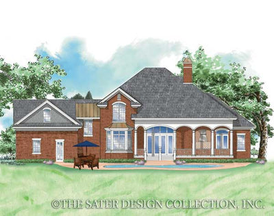 Channing-Rear Elevation-Plan #8005