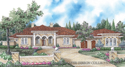 Della Porta-Front Elevation Rendering-Plan#8007