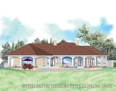 Della Porta-Rear Elevation Rendering-Plan#8007