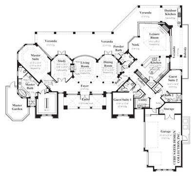 New Abbey-Main Level Floor Plan-#8008