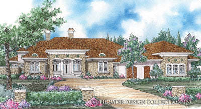 Baxter-Front Elevation-Plan #8009