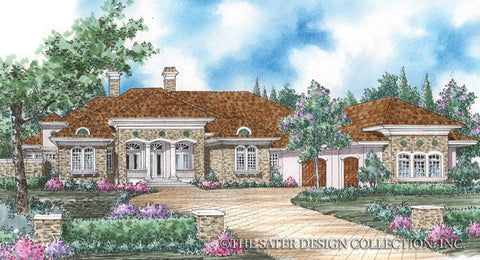 Tuscan style house plans pictures