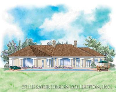 Baxter-Rear Elevation-Plan-#8009