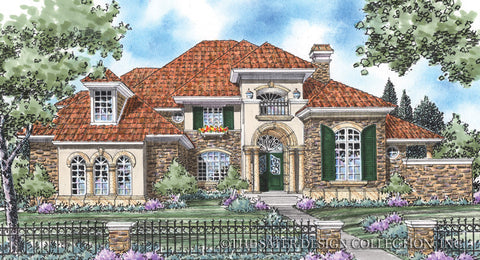 Tuscan villa style house plans home design and style for Tuscan villa house plans