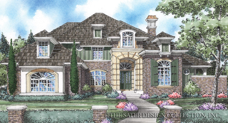 La Riviere-Front Elevation Image-Plan #8011