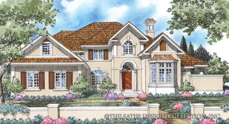 Elise-Front Elevation-Plan #8012
