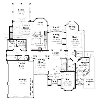 Elise-Main Level Floor Plan-#8012