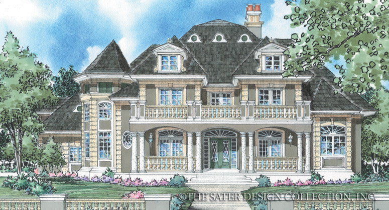 Bellamy-Front Elevation-Plan #8018