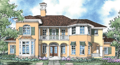 Ascott-Front Elevation-Plan #8019