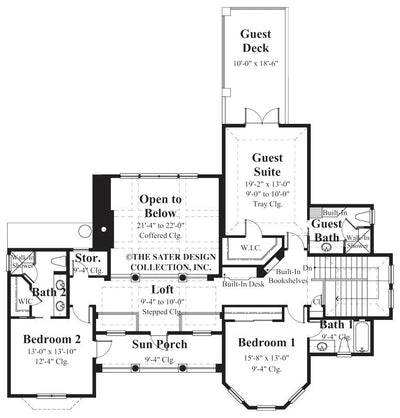 Ascott-Upper Level Floor Plan-#8019
