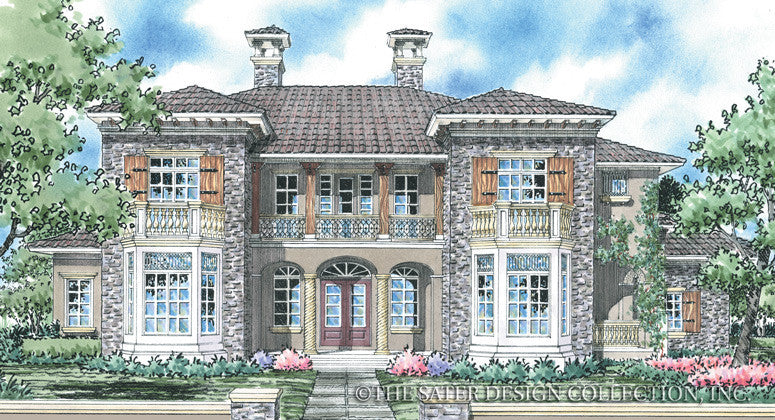 House Plan Vienna Sater Design Collection