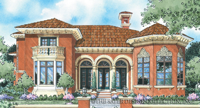 Bartolini-Front Elevation-Plan #8022