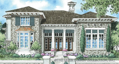 Edmonton-Front Elevation Rendering-Plan#8023