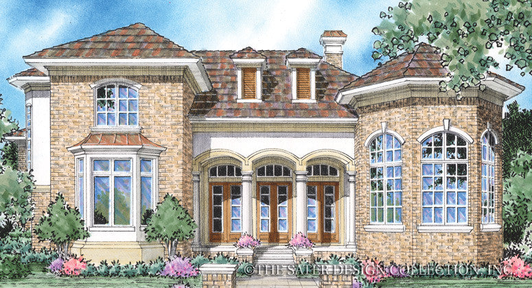 Gabriel-Front Elevation Rendering-Plan 8024