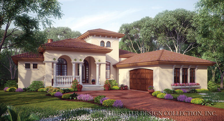 Mercato-Front Elevation-Plan #8028